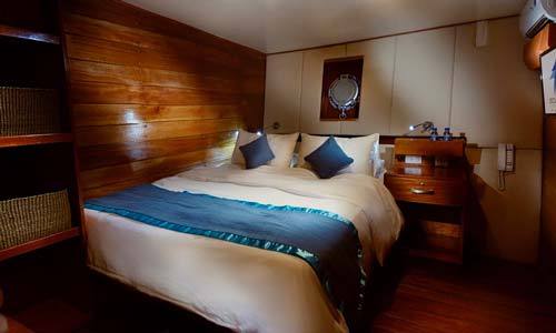 Solitude One Double Bed Cabin