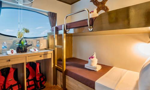 Deluxe Twin Bed Cabin