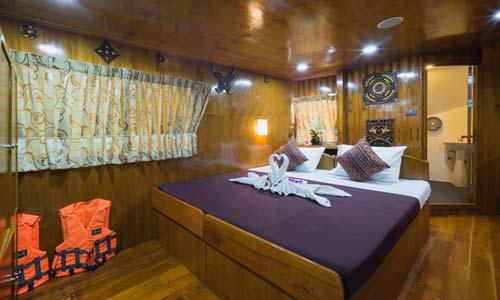 Sawasdee Fasai Master Double Bed Cabin