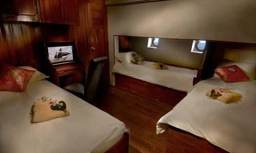 Phinisi Quad Twin Cabin