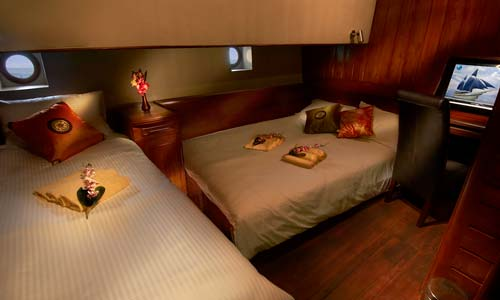 Phinisi Twin or Double Bed Cabins