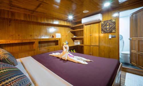 Sawasdee Fasai Standard Double Bed Cabin