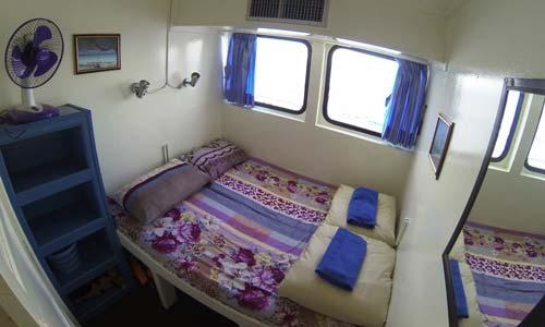 Oktavia Liveaboard Standard Double Bed Cabin