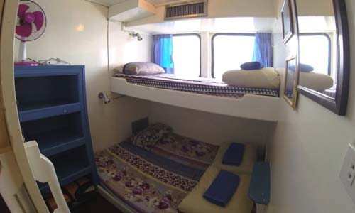 Oktavia Liveaboard Standard Twin and Double Bed Cabin