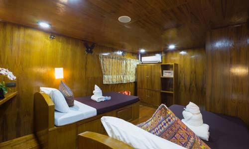 Sawasdee Fasai Standard Twin Bed Cabin