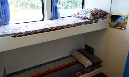 Oktavia Liveaboard Standard Twin Bed Cabin