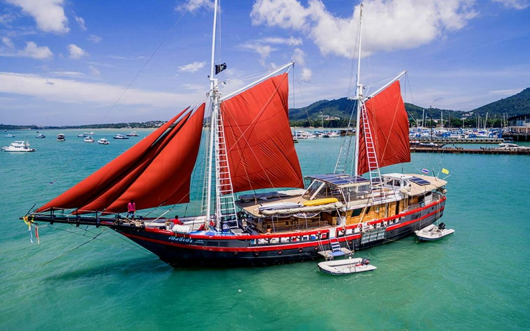 The Phinisi Liveaboard Thailand