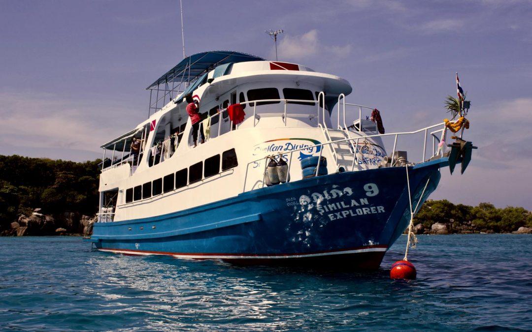Similan Explorer Liveaboard Thailand